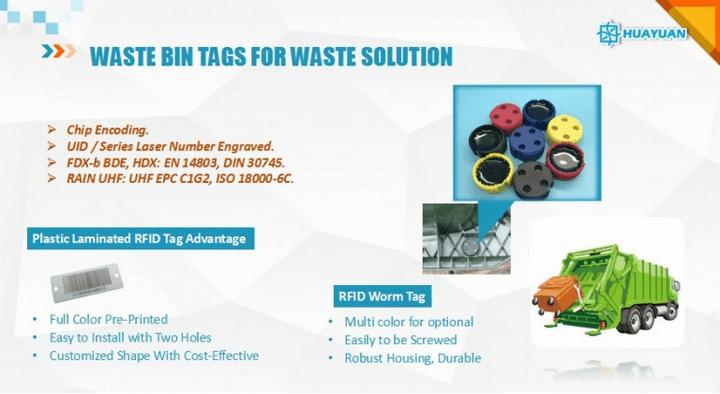 waste bin tag