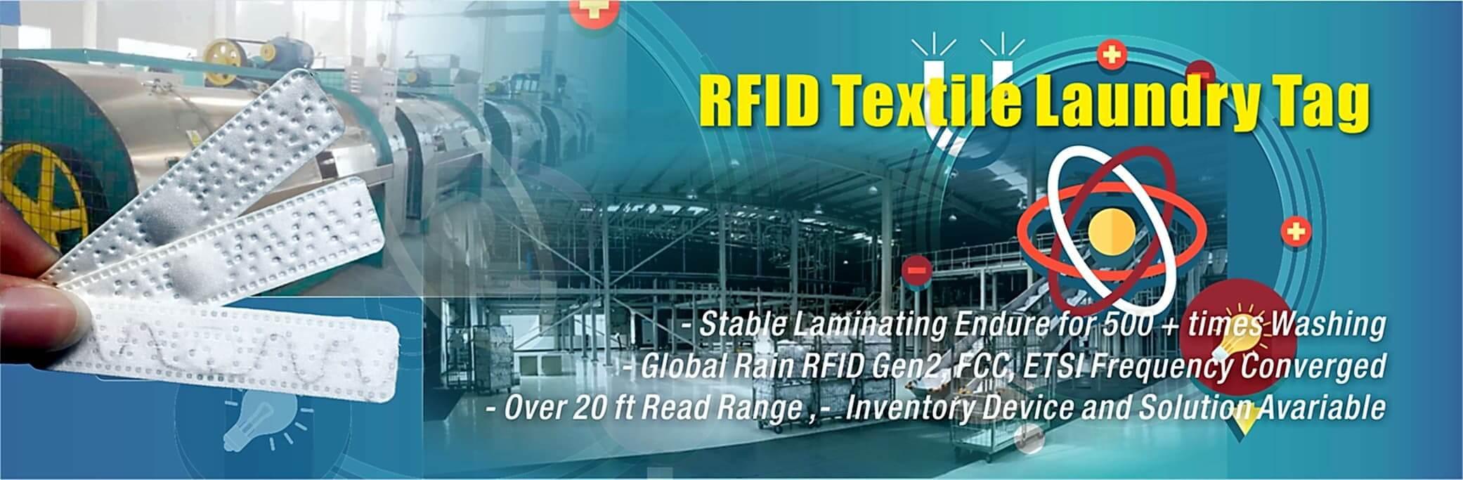 HUAYUAN Textile Linen RFID Laundry Tag