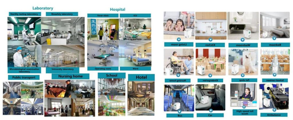 Applications of Intelligent Disinfection Robot